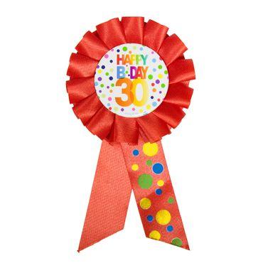 Anstecker Birthday 30 Dots