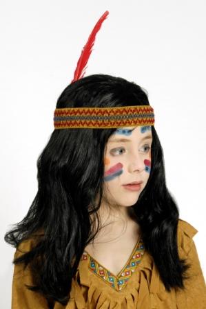 Kinder-Perücke Indianer – Bild 2