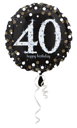 Folienballon Sparkling 40