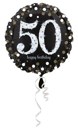 Folienballon Sparkling 50