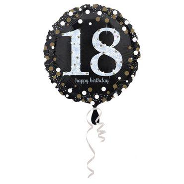 Folienballon Sparkling 18