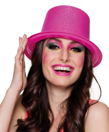 Partyhut Glitter pink – Bild 1