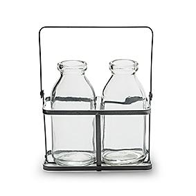 Glasflaschen / Vase Kaia