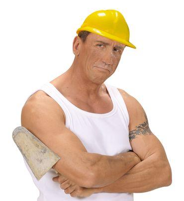 Bauarbeiterhelm gelb – Bild 3