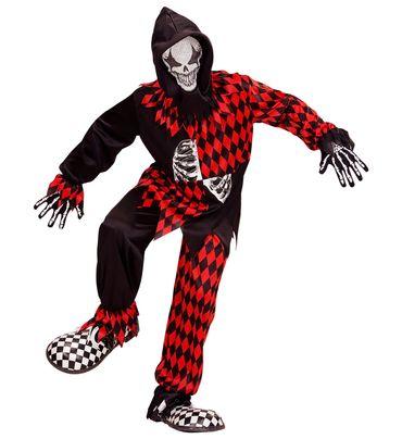Böser Hofnarr Kostüm Horror Clown