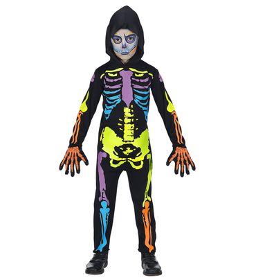 Buntes Skelett-Overall