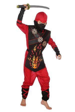 Ninja Fire-Anzug – Bild 1