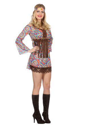 Hippie-Kleid Batik
