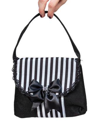 Tasche schwarz-weiß