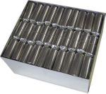 Knallbonbon silber 22 cm 001