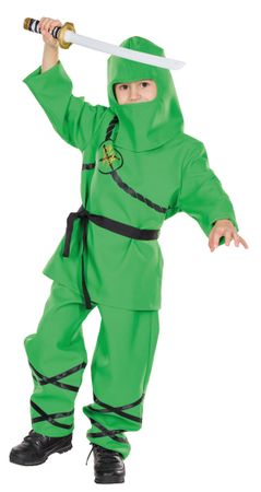 Ninja-Anzug grün – Bild 1