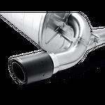 Akrapovic Evolution Line BMW 335i F30 F31 inkl. Link Pipe mit ECE Zulassung – Bild 2