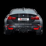 Akrapovic Carbon Heckdiffusor BMW M4 F82 F83 matt mit ABE – Bild 3