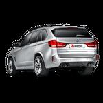 Akrapovic Evolution Line (Titan) BMW X5 M F85 mit ECE Zulassung – Bild 3