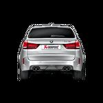 Akrapovic Evolution Line (Titan) BMW X5 M F85 mit ECE Zulassung – Bild 4