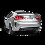 Akrapovic Evolution Line (Titan) BMW X6 M F86 mit ECE Zulassung – Bild 3