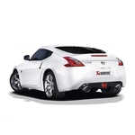 Akrapovic Slip-On Line Edelstahl Nissan 370Z mit ECE Zulassung – Bild 3