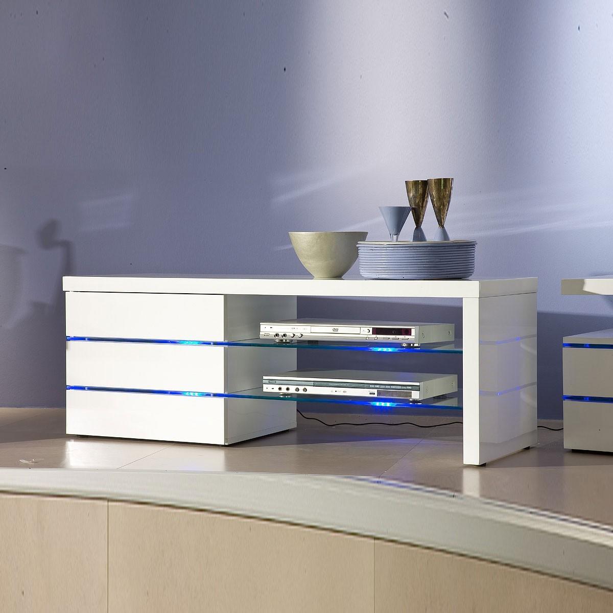 tv lowboard sonia hochglanz wei lackiert tv schrank. Black Bedroom Furniture Sets. Home Design Ideas