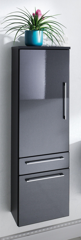 3 tlg badm bel set waschplatz spiegel hochschrank led. Black Bedroom Furniture Sets. Home Design Ideas