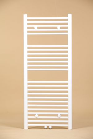 Badheizkörper Oval Mittelanschluss 600x1000 Weiss (RAL9016) – Bild 1