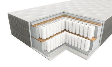 7 Zonen Boxspringmatratze InterMED Best 180x200 cm H3 Höhe 32cm – Bild 1