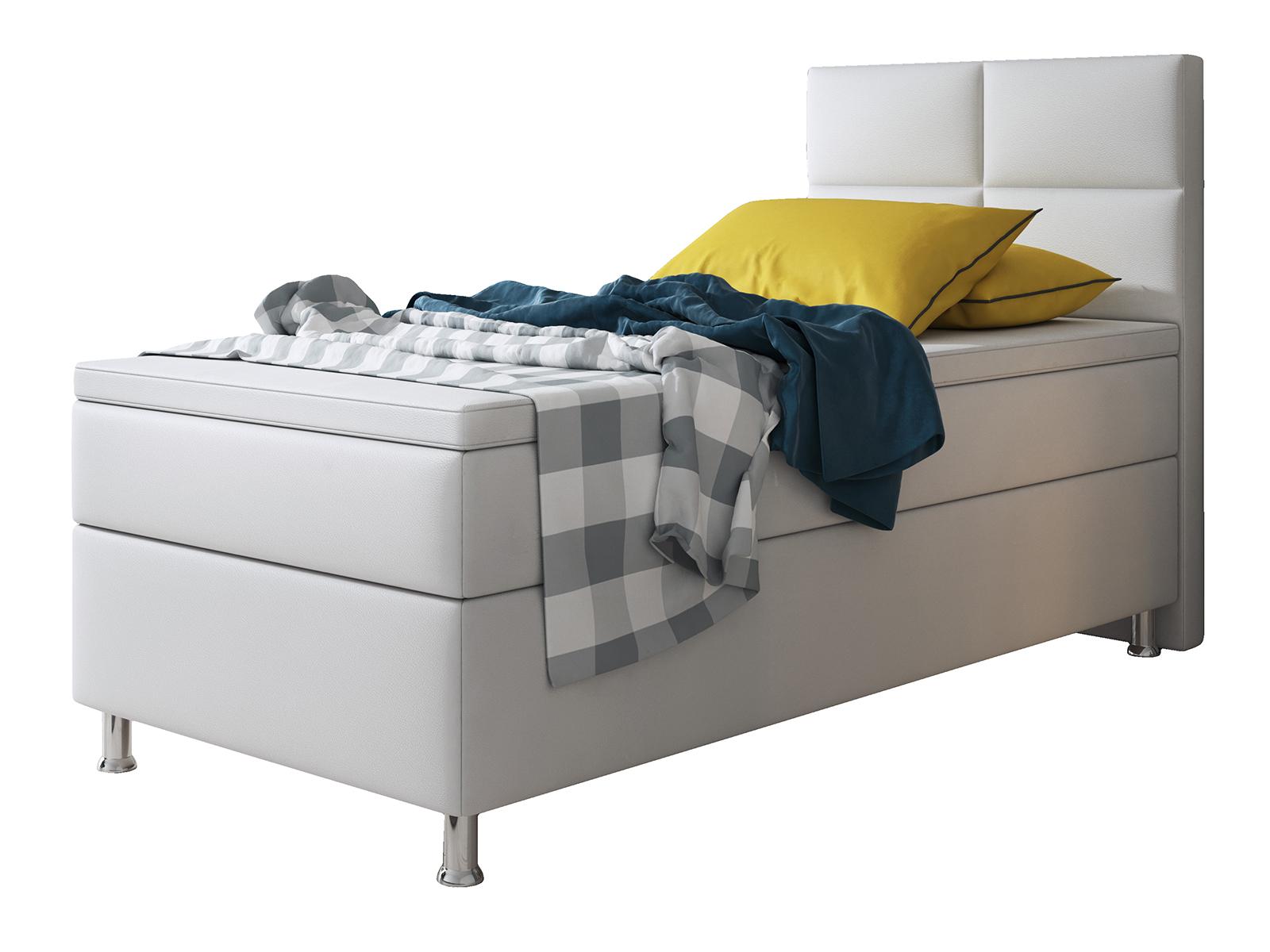 boxspringbett 90 200 wei kerryskritters. Black Bedroom Furniture Sets. Home Design Ideas