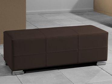 Bettbank Paso Bank Braun 120x43x45 cm – Bild 2
