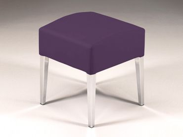 Hocker Sitzhocker Stuhl Ashley Brombeer – Bild 2
