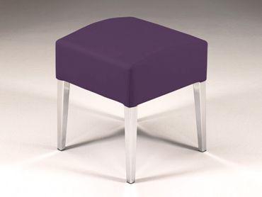 Hocker Sitzhocker Stuhl Ashley Brombeer – Bild 2