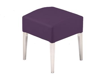 Hocker Sitzhocker Stuhl Ashley Brombeer – Bild 1