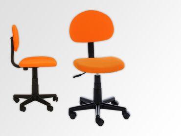 Drehstuhl Webstoff Orange – Bild 1