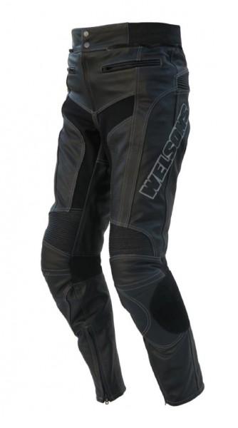 Lederhose WMT-401 schwarz