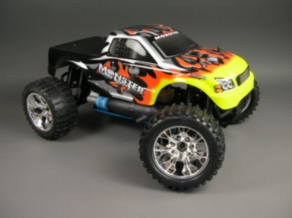"RC Auto Verbrenner Monstertruck "" Monster 2,4 GHZ "" 3,0ccm M 1:10"