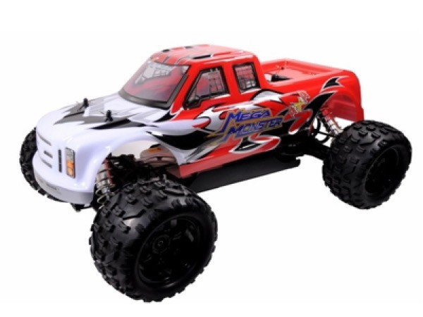 4WD Monstertruck Mega Monster M 1:5 26ccm 2,4 GHz RTR