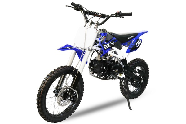 SKY Cross DIRT BIKE 125cc mit UpsideDown Gabel