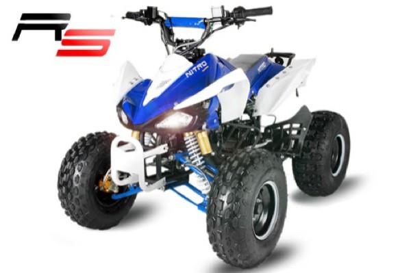 Nitro Quad Speedy 3G8 RS 125ccm, Semi-Automatik + Rückwärtsgang