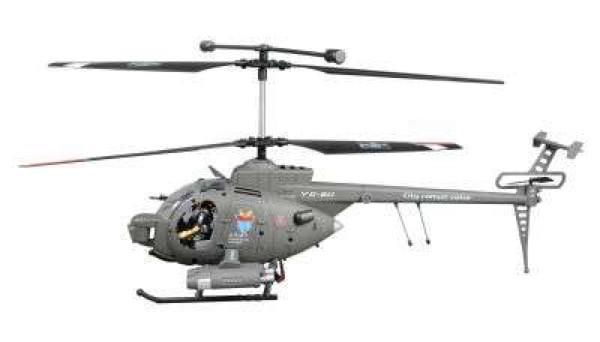 RC Hubschrauber Defender mit Gyro 3 Kanal 450mm RTF
