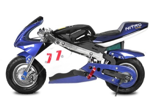 Elektro Pocketbike ECO 800 Watt – Bild 1