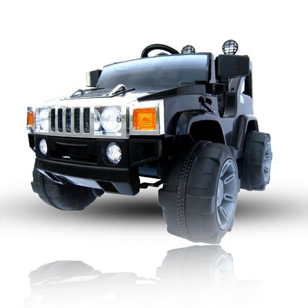 Kinder Elektroauto Jeep Hummer Optik mit 2 x 35 Watt Motor – Bild 1