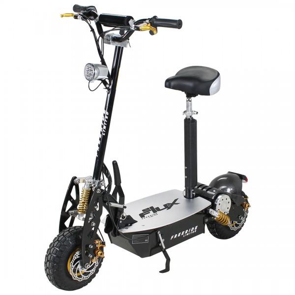 e scooter eflux freeride 1000 watt 48 v mit licht und freilauf elektroroller roller elektro. Black Bedroom Furniture Sets. Home Design Ideas