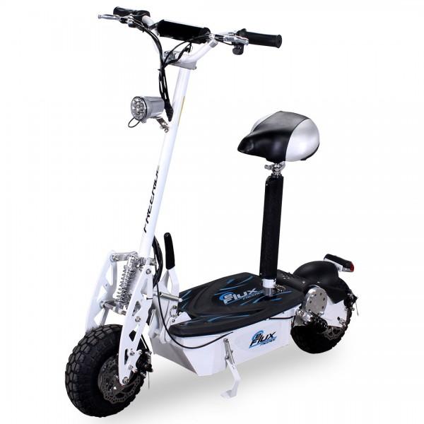 E-Scooter eFlux Freeride 1000 Watt 48 V mit Licht und Freilauf – Bild 3