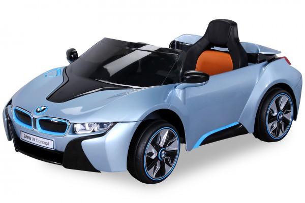 Elektroauto BMW I8 LIZENZIERT 2 x 45 Watt Motor , 2 x 6V/7AH Batterie
