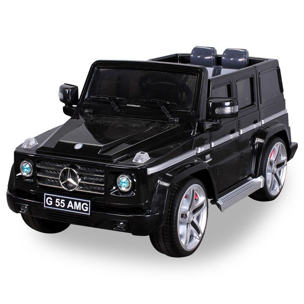 Elektro Kinderauto Mercedes Benz AMG G55 High Door - Leder Sitz – Bild 1