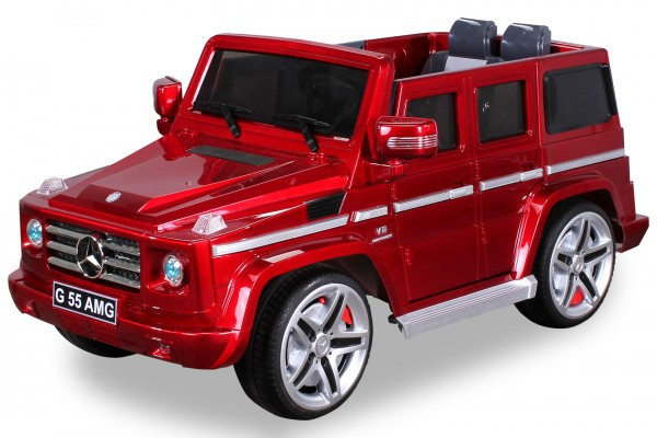 Elektro Kinderauto Mercedes Benz AMG G55 High Door - Leder Sitz – Bild 2