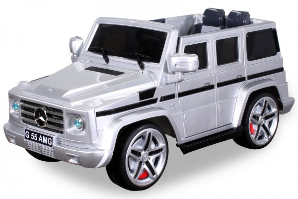 Elektro Kinderauto Mercedes Benz AMG G55 High Door - Leder Sitz – Bild 3