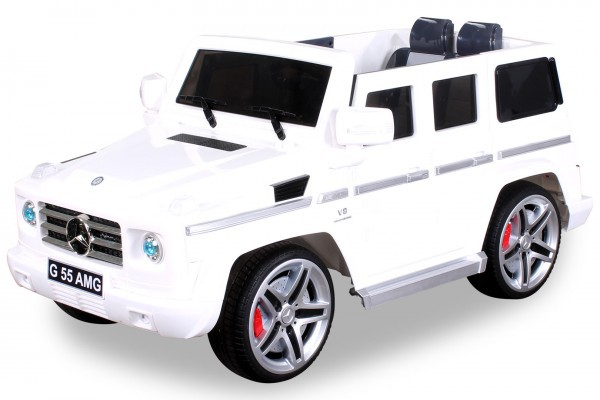 Elektro Kinderauto Mercedes Benz AMG G55 High Door - Leder Sitz – Bild 4