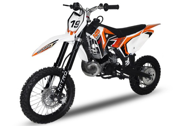Dirtbike NRG49 GTS 49ccm 14/12 Hydraulik | Cross | Enduro | Pocket