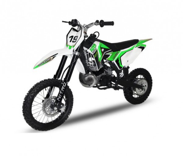 Dirtbike NRG49 GTS 49ccm 14/12 Hydraulik | Cross | Enduro | Pocket – Bild 3