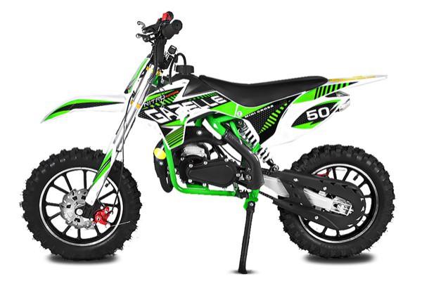 Dirtbike Gazelle 49 ccm Nitro E-Starter Edition | Minibike | Racing – Bild 1