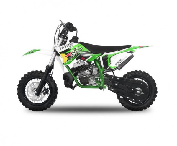 "Dirtbike 49 ccm Nitro NRG 50 10""/10"" New Design  – Bild 2"